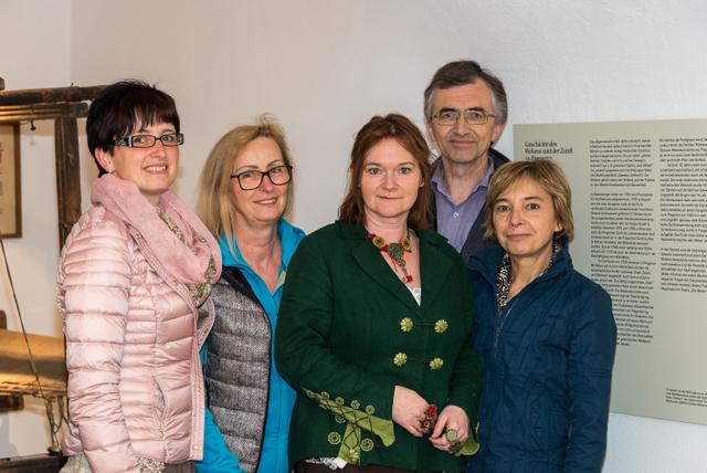 1-v.l.n.r. Renate Danninger, Christa Schauer, Sabine Krump, Reinhold Klinger, Karin Brandstötter